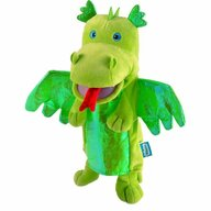 Fiesta Crafts - Marioneta de mana Dragonul Verde