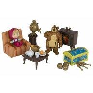 Simba - Set de joaca Casa ursului , Masha and The Bear, Multicolor