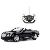 Rastar - Masinuta cu telecomanda Bentley Continental GT , Scara 1:12, Negru