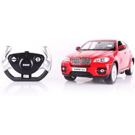 Rastar - Masinuta cu telecomanda BMW X6 ,  Scara 1:14, Rosu