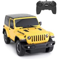 Rastar - Masinuta cu telecomanda Jeep Wrangler Rubicon ,  Scara 1:24, Galben