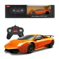 Rastar - Masinuta cu telecomanda Lamborghini Murcielago LP670 ,  Scara 1:24, Portocaliu