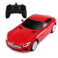 Rastar - Masinuta cu telecomanda Mercedes AMG GT ,  Scara 1:24, Rosu