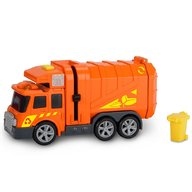 Dickie Toys - Masina de gunoi Mini Action Series City Cleaner portocaliu
