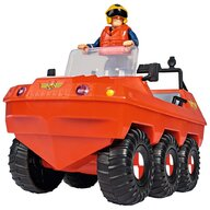 Simba - Masina de pompieri  Fireman Sam, Sam Hydrus cu figurina si accesorii