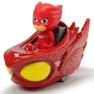 Dickie Toys - Masina Eroi in Pijamale Owl-Glider cu figurina