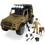 Dickie Toys - Masina Playlife Ranger Set cu masina Mercedes-Benz AMG 500 4x4, figurina si accesorii