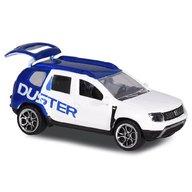 Majorette - Masina Dacia Duster, Alb, Albastru