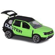 Majorette - Masina Dacia Duster, Negru, Verde