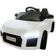 R-Sport - Masinuta electrica Audi R8 Cu telecomanda, Alb