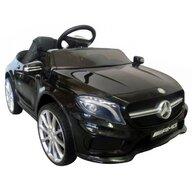 R-Sport - Masinuta electrica Mercedes GLA45 , Cu telecomanda, Cu roti EVA, Cu scaun piele, Negru