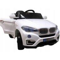 R-Sport - Masinuta electrica Cabrio B12 KL-5188 , Cu telecomanda, Cu roti EVA, Alb