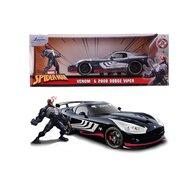 Simba - Masina Dodge Viper 2008 , Venom , Metalica,  Scara 1:24, Multicolor