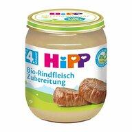 HiPP - Meniu carne de vitel, 125 gr