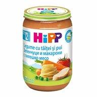 HiPP - Meniu pui cu legume si taitei, 220 gr