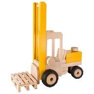 Goki - Vehicul de lemn Motostivuitor Micul santierist