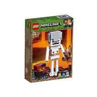 LEGO - Minecraft Schelet BigFig si cub de magma