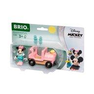 BRIO - Locomotiva , Minnie Mouse , Cu figurina