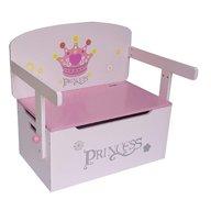Style - Mobilier 2 in 1 pentru depozitare jucarii Princess