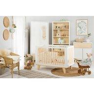 Klups - Mobilier camera copii si bebelusi Lydia, Alb/Natur