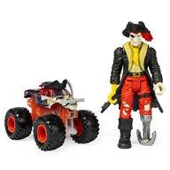 Spin Master - Masina Blestemul piratilor , Monster Jam , Cu Capitanul negru