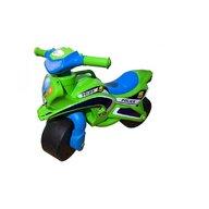 MyKids - Motocicleta de impins  Police Music 0139/52 Verde Albastru