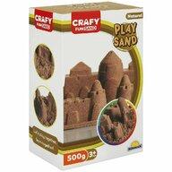 CRAFY - Nisip kinetic 500 gr Fun Sand, Natur