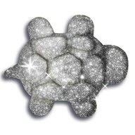 Spin Master - Nisip kinetic Metale si minerale stralucitoare, Gri