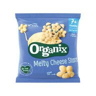 Organix - Snack stelute din porumb expandat branza ,20g ,7+, eco
