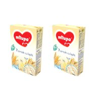 Milupa - Pachet 2 x Cereale cu lapte, 7 Cereale, 250g, 6luni+