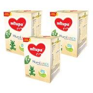 Milupa - Pachet 3 x Lapte praf Milumil Junior 2+, 1200g, 2ani+