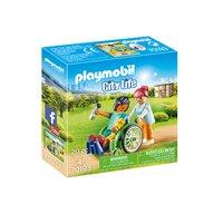 Playmobil - Pacient in scaun cu rotile