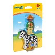 Playmobil - Padurar cu zebra