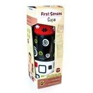 Miniland - Jucarie pentru sortat si stivuit Pahare First Senses