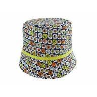 KidsDecor - Palarie 50 cm, De vara din Bumbac, 1-3 ani, Multicolor
