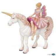 Papo - Figurina Balerina Elf si unicorn