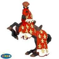 Papo - Figurina Calul printului Filip (rosu)