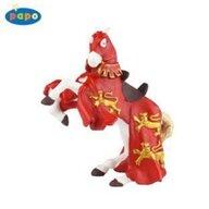 Papo - Figurina Calul regelui Richard (rosu)