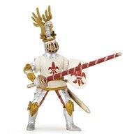 Papo - Figurina Cavaler Crin alb