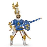Papo - Figurina Cavaler Crin albastru