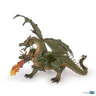 Papo - Figurina Dragon cu 2 capete