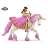Papo - Figurina Printesa cu lira pe cal
