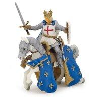 Papo - Figurina Saint Louis pe cal