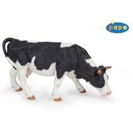 Papo - Figurina Vaca alb cu negru pascand