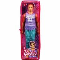 Mattel - Papusa Barbie Fashonista , Cu maieu Malibu, Violet