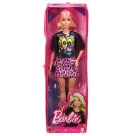 Mattel - Papusa Barbie Fashonista , Blonda, Cu tinuta de vara rock