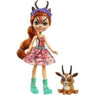 Enchantimals - Papusa Gabriela Gazelle Cu figurina Racer by Mattel