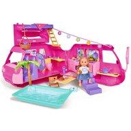 Simba - Papusa Evi Love 12 cm Holiday Camper cu rulota si accesorii