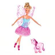 Simba - Papusa Steffi Love 29 cm Fairy Friends cu ponei si aripi detasabile