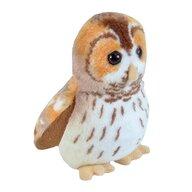 WILD REPUBLIC - Jucarie din plus interactiva Bufnita Bruna - Tawny Owl , Cu sunet